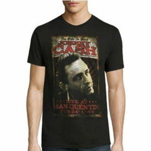 NWT Zion Rootswear men's Johnny Cash T-shirt. Sm